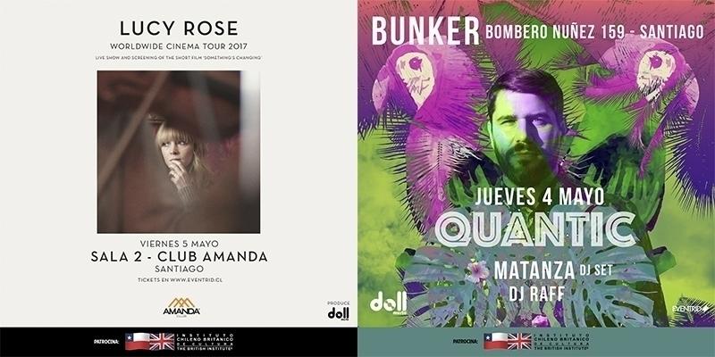 Instituto Chileno Británico de Cultura patrocinará a Quantic y Lucy Rose