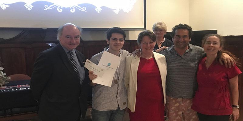 Ceremonia Premiación English Writing Competition 2017
