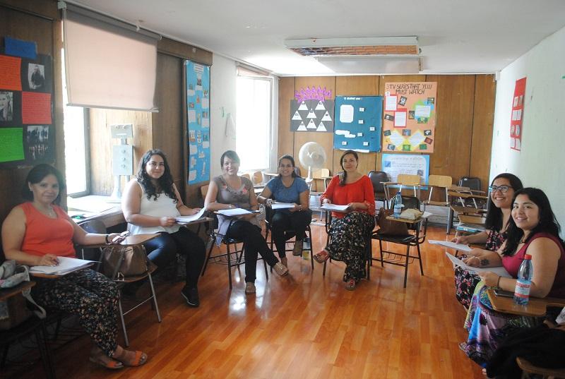 Profesores de Fundación Belén Educa se capacitan en Instituto Chileno Británico de Cultura