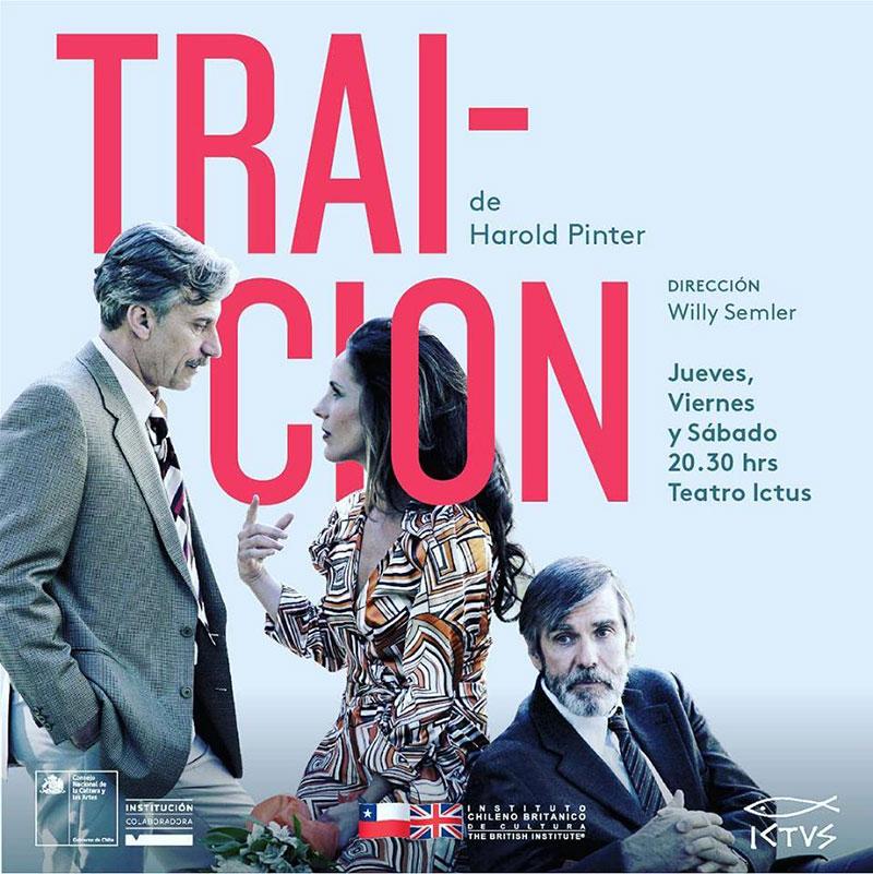 """ICBC estuvo presente en el debut de la obra """"Traición"""" en el Teatro Ictus"""