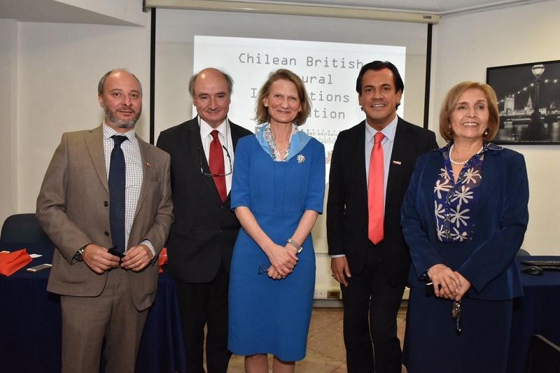 Lady Mayoress de la ciudad de Londres reconoció la labor del ICBC